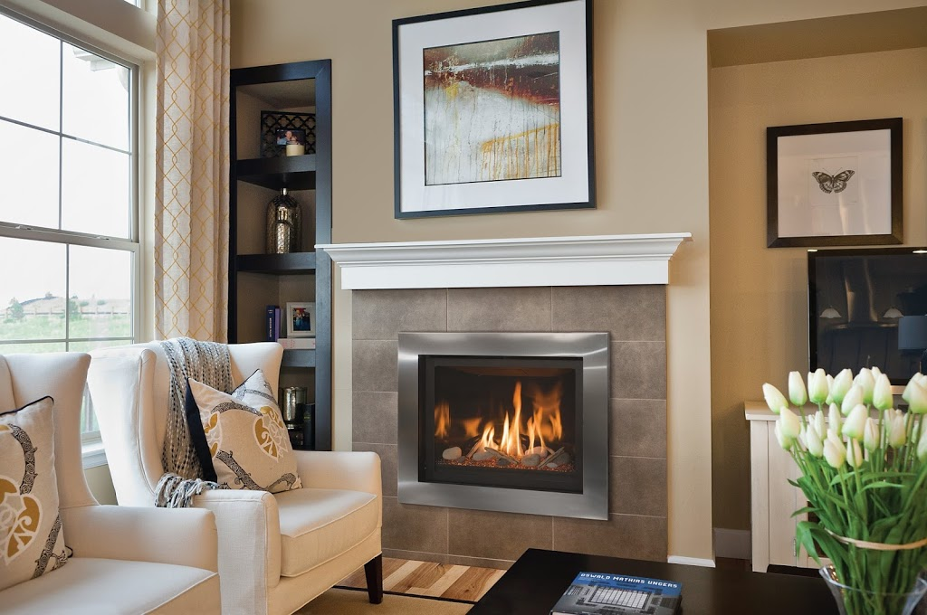 Delano 36S - Direct Vent Contemporary Fireplace
