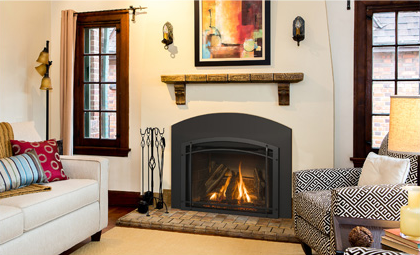 Direct Vent Gas Fireplace Through Roof