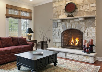 Modern, Contemporary & Direct Vent Fireplace Gas Inserts | Free ...