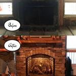 Copycat Hearth and Homes Fireplace