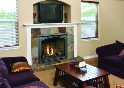 Bayport 41 - Gas fireplace