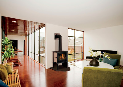 Birchwood 20 -Free Standing Gas Fireplaces