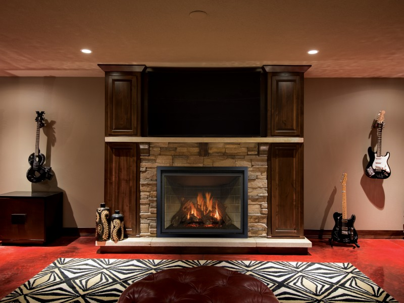 Carlton 46 Direct Vent Gas Fireplace Gas Fireplaces