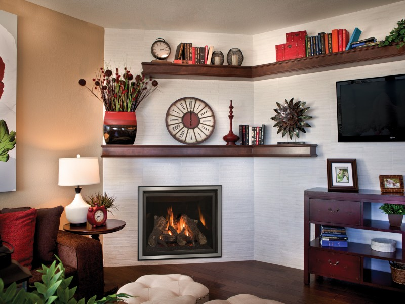 Carlton 39 Direct Vent Gas Fireplace | Gas Fireplaces