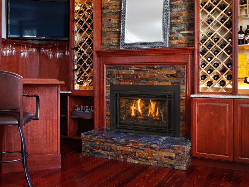 Fireplace Design high efficiency fireplace insert : Chaska 29 Gas Fireplace Insert | Gas Fireplaces