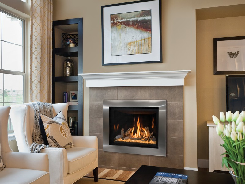 Delano 36S Direct Vent Gas Fireplace | Gas Fireplaces