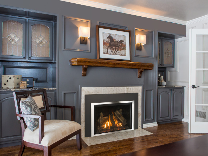 Fireplace Design high efficiency fireplace insert : Jordan 34S Gas Fireplace Insert | Gas Fireplaces