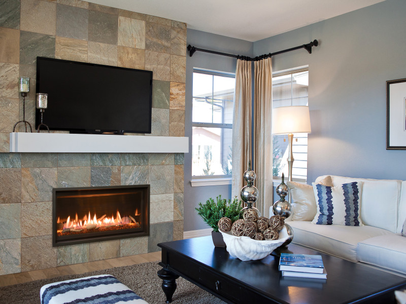 Slayton 36 Direct Vent Gas Fireplace | Contemporary Gas Fireplaces ...