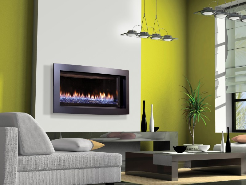 Slayton 42s Direct Vent Gas Fireplace Contemporary Gas
