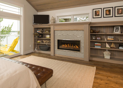 Slayton 42S - Direct Vent Linear Contemporary Fireplace