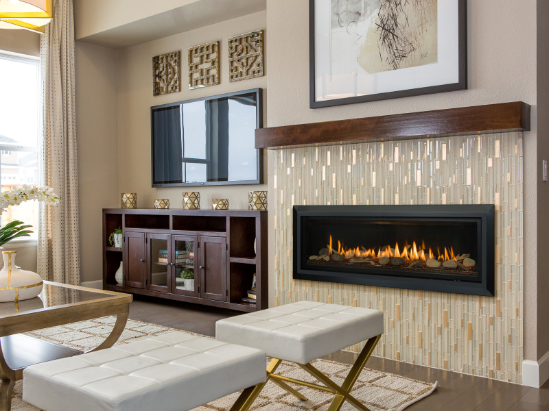 Slayton 60 Direct Vent Gas Fireplace | Contemporary Gas Fireplaces ...