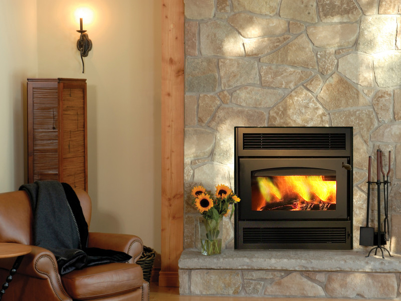 Kozy Heat offers EPA Certified wood burning fireplace inserts. The fireplace decreases flammable creosote within the chimney by 90%