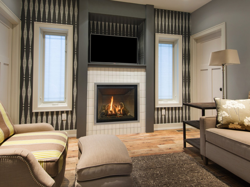 natural gas fireplace contemporary why direct vent natural gas fireplaces make for an ideal choice