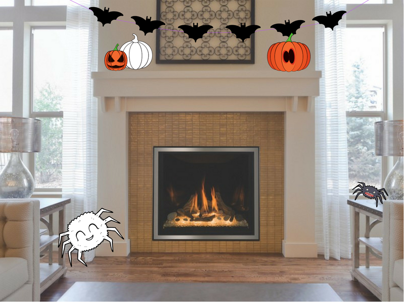 Decorating Your Fireplace For Halloween Kozy Heat Fireplaces