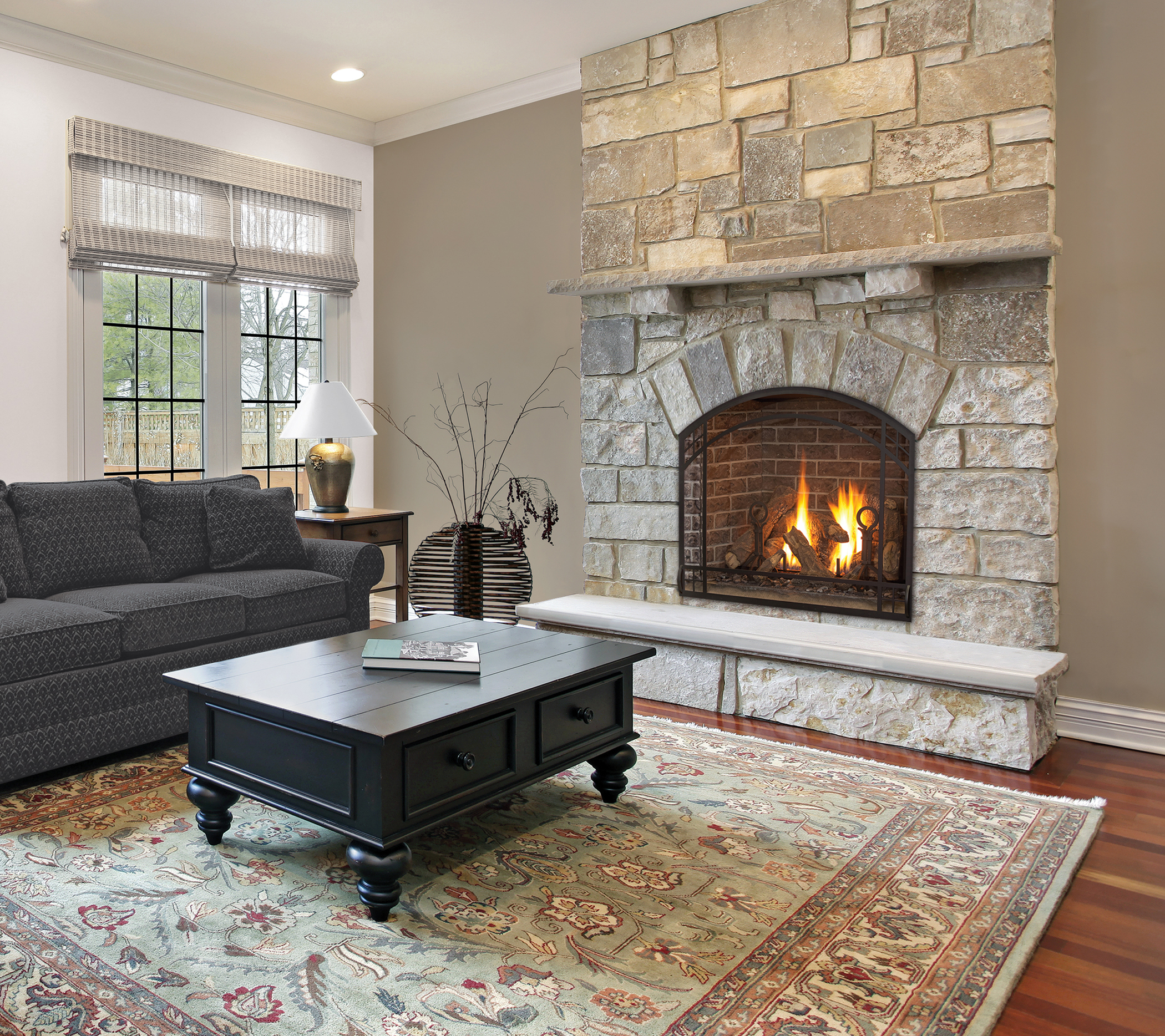 Gas Fireplace: Alpha 36S Direct Vent Gas Fireplace